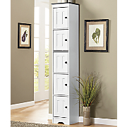 Katie 5-Door Tall Kitchen Cabinet