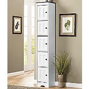 Katie 5-Door Tall Kitchen Cabinet