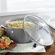 8-Qt. Hard-Anodized Stock Pot by Ginny's