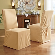 Devonshire Velvet Dining Chair Cover