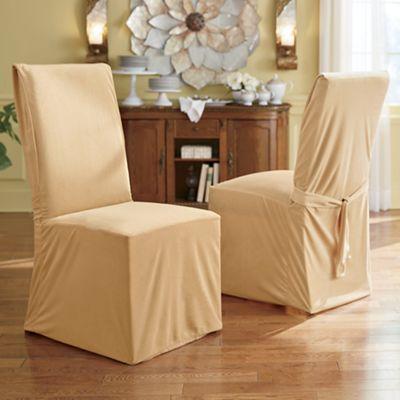 Devonshire Velvet Dining Chair Cover
