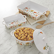 Blossom Baking/Serving Dishes