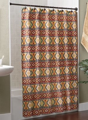 Rustic Ranch Shower Curtain