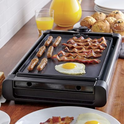 Reversible Electric Grill/Griddle by Ginny's