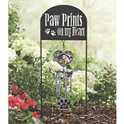 Paw Prints Photo Windchime