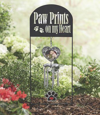 Paw Prints Photo Windchime