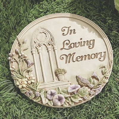 in Loving Memory Stepping Stone