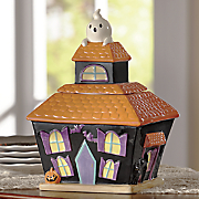 Haunted-House Cookie Jar