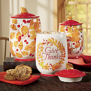 give thanks 3 pc  canister set