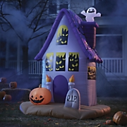 spooky house inflatable