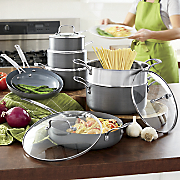 Hard-Anodized Cookware Set by Ginny's