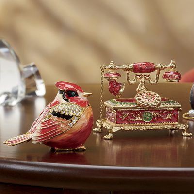 Hand-Painted Trinket Boxes