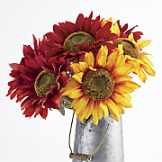 your choice set of 2 sunflower stems