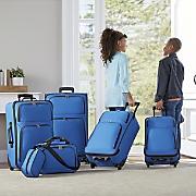 6 pc  luggage set