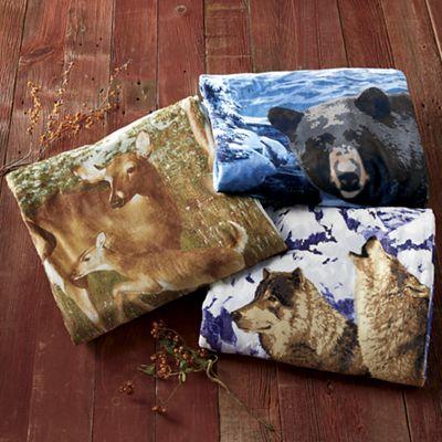 Wilderness Plush Blanket
