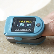 Deluxe Pulse Oximeter by Veridian Healthcare