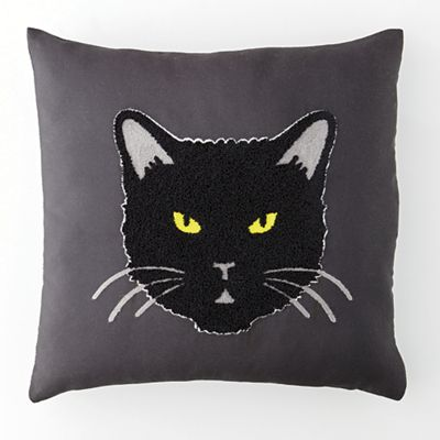 Spellbinding Cat Pillow