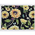 Sunflower Garden Placemat Set