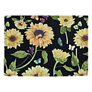 sunflower garden 6 pc  placemat set