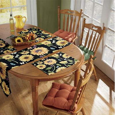 Sunflower Garden Table Linens