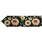 sunflower garden table runner