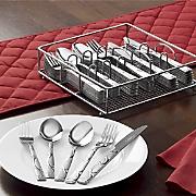 60 pc  flatware set by ginny s