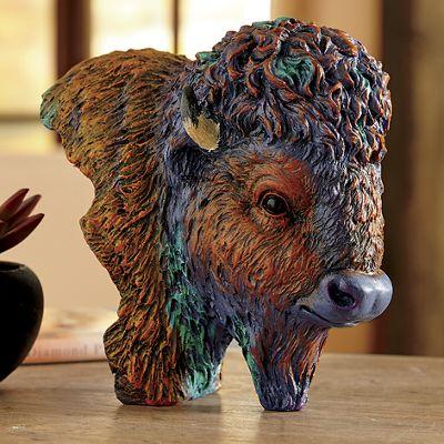 Bison Bust