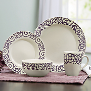 Scroll Dinnerware Set by Rachael Ray