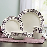 Scroll Dinnerware Set by Rachael Ray