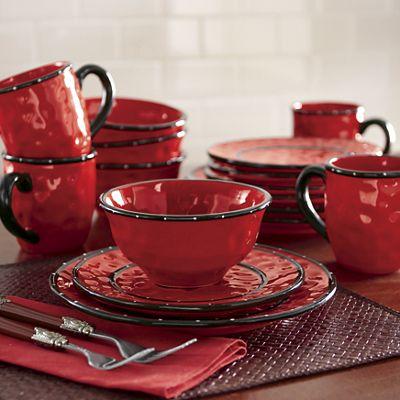 Textured Dinnerware Set by Ginny's