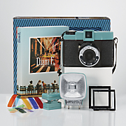 Diana F+ Camera with Flash and 3-Pack 120 Color Film by Lomography