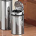 Auto-Open 8-Gallon Trash Bin