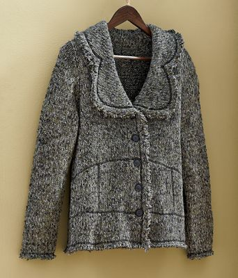 Button-Up Sweater Cardigan