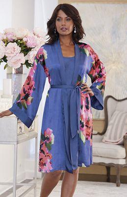 Vivid Dreams Robe/Gown Set