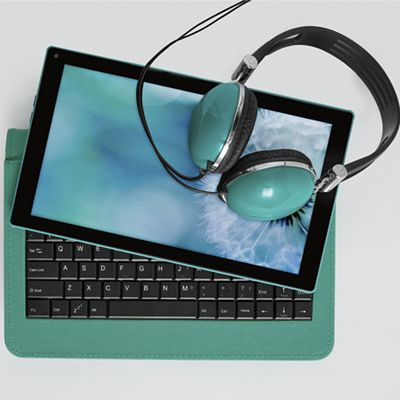 """10"""" Tablet with Headphones by Ematic"""