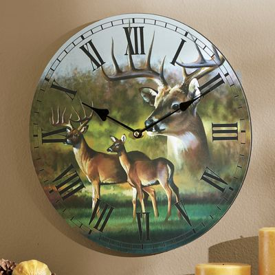 Wildlife Printed Wall Clock