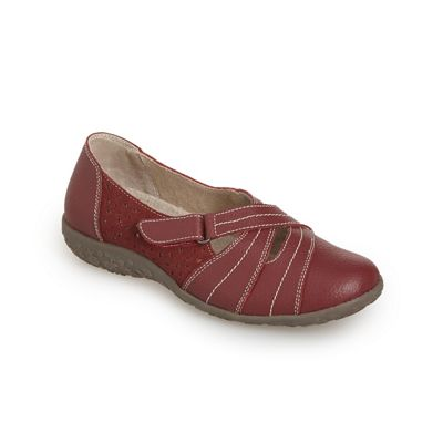 Heloise Strap Slip-On Shoe by Spring Step