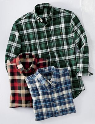 3-Pack Flannel Shirts