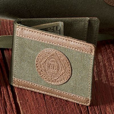 Budweiser Slimfold Wallet with Clip