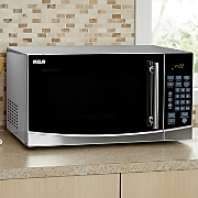 1.1 Cu. Ft. Stainless Steel Microwave by RCA