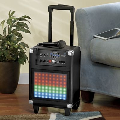 Portable Speaker System with Lights by Magnavox