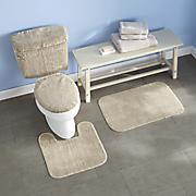 3-pc. and 5-pc. bath sets and Bath Carpet