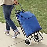 Rollng Shoppng Cart with Seat