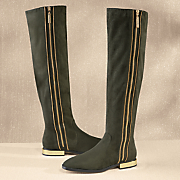 Uptown Zipper Boot by Lady Couture