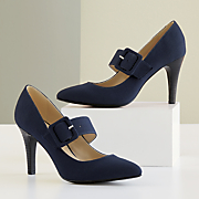 Buckle-Me-Up Pump by Andiamo