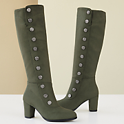 Tall Boot with Side Buttons by Monroe and Main