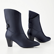 Asymmetrical Bootie by Monroe and Main