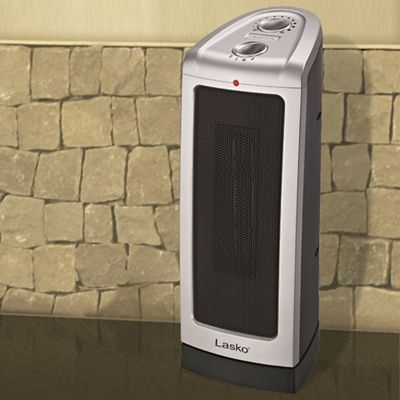 Oscillating Ceramic Tower Heater by Lasko