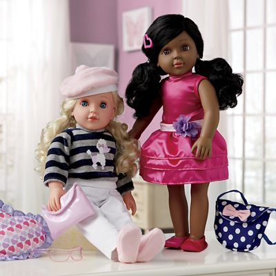 """18"""" Doll Plus 2 Extra Outfits"""