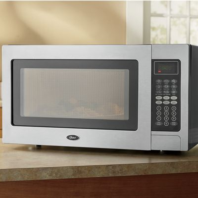 Stainless Steel 1.1 Cu. Ft. Microwave by Oster